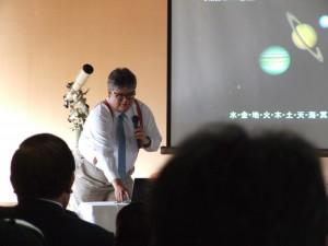 九州大学山岡助教授講演の様子