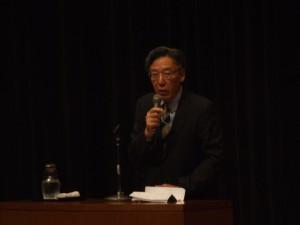 坂本光司氏講演の様子